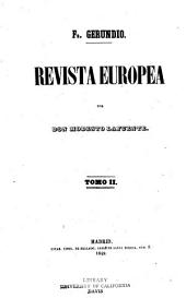 Revista europea: Volumen 2