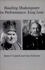 Reading Shakespeare in Performance
