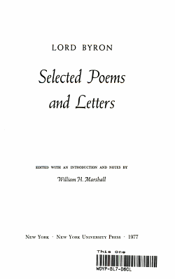 Selected Poems and Letters PDF