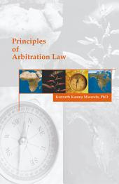 Principles of Arbitration Law