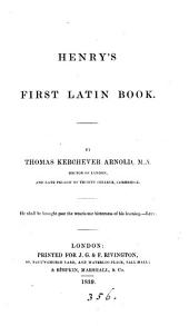 Henry's first Latin book