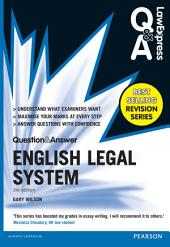 Law Express Question and Answer: English Legal System(Q&A revision guide): Edition 3