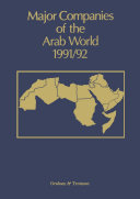 Major Companies of the Arab World 1991 92