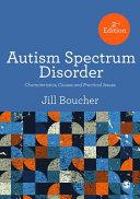 The Autism Spectrum Disorders