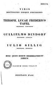 Rhetores graeci, ex codicibus Florentinis, Mediolanensibus, Monacensibus, Neapolitanis, Parisiensibus, Romanis, Venetis, Taurinensibus et Vindobonensibus