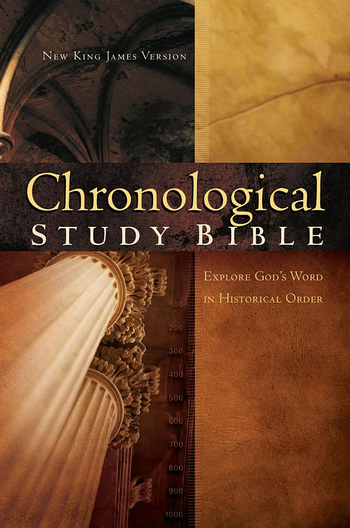 The Chronological Study Bible