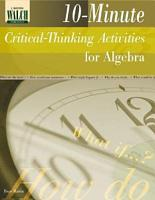 10 Minute Critical Thinking Activities for Algebra PDF