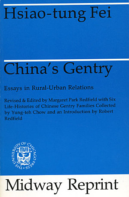 China's Gentry