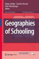 Geographies of Schooling PDF