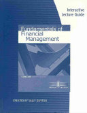 Interactive Lecture Guide for Brigham Houston s Fundamentals of Financial Management  Concise Edition  7th PDF