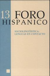 Sociolingüística: lenguas en contacto