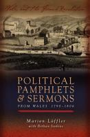 Political Pamphlets and Sermons from Wales 1790 1806 PDF
