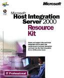 Microsoft Host Integration Server 2000 Resource Kit PDF