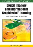 Digital Imagery and Informational Graphics in E Learning  Maximizing Visual Technologies PDF