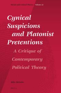 Cynical Suspicions and Platonist Pretentions Book