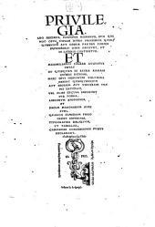 Omnia Opera: Parainetika Videlicet Eaqvae Ad Vitam Recte Institvendam Pertinent Complectens. 1