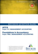 ACCA Approved   F2 Management Accounting  FIA  FMA  PDF