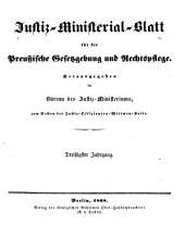 Deutsche justiz: rechtspflege und rechtspolitik ... Amtliches blatt der deutschen rechtspflege, Band 30