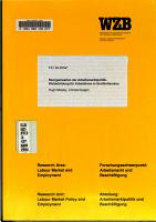 Reorganisation der Arbeitsmarktpolitik PDF
