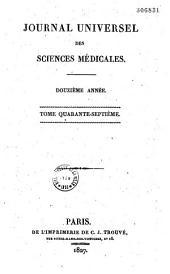 Journal des sciences médicales