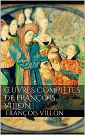 Œuvres complètes de François Villon