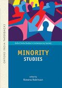 Minority Studies  OIP  PDF
