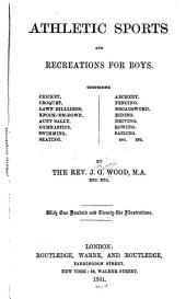 Athletic Sports and Recreations for Boys