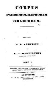 Corpus paroemiographorum graecorum: Volume 1