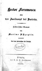 Hector Fieramosca, oder, der Zweikampf bei Barletta: historischer Roman, Ausgabe 5361