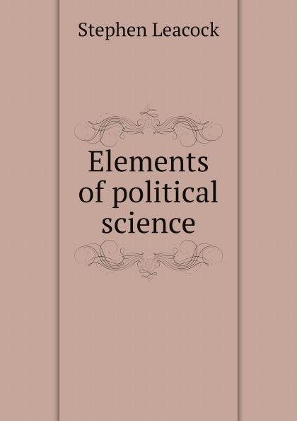 Download Elements of political science Book