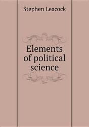 Elements Of Political Science Book PDF