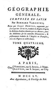 Geographie générale: Volume4
