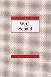 Understanding W G  Sebald PDF