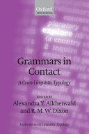 Grammars in Contact
