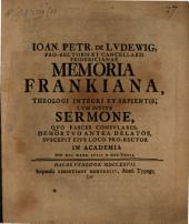 Memoria Frankiana