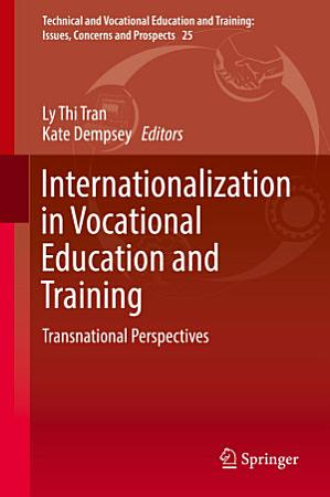 Internationalization in Vocational Education and Training PDF