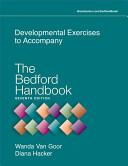 Developmental Exercises to Accompany The Bedford Handbook