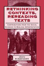 Rethinking Contexts  Rereading Texts PDF