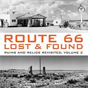 Route 66 Lost   Found Book