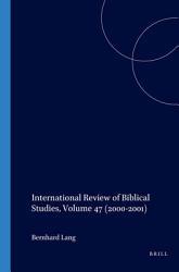 International Review of Biblical Studies PDF