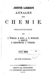 Justus Liebigs Annalen der Chemie: Bände 185-186