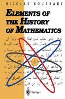 Elements of the History of Mathematics PDF