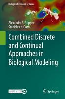 Combined Discrete and Continual Approaches in Biological Modelling PDF