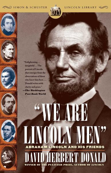Download We Are Lincoln Men Book