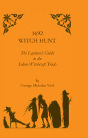 1692 Witch Hunt Book
