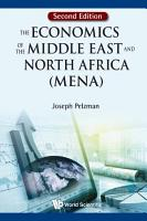 Economics Of The Middle East And North Africa  Mena   The  Second Edition  PDF
