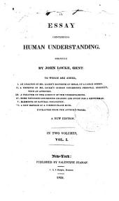An analysis of Mr. Locke's doctrine of ideas in his Essay on human understanding. (fold. tab.) Of human understanding