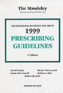 Bethlem and Maudsley Prescribing Guidelines PDF