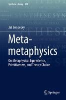 Meta metaphysics PDF