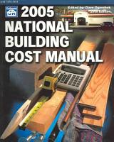 2005 National Building Cost Manual PDF